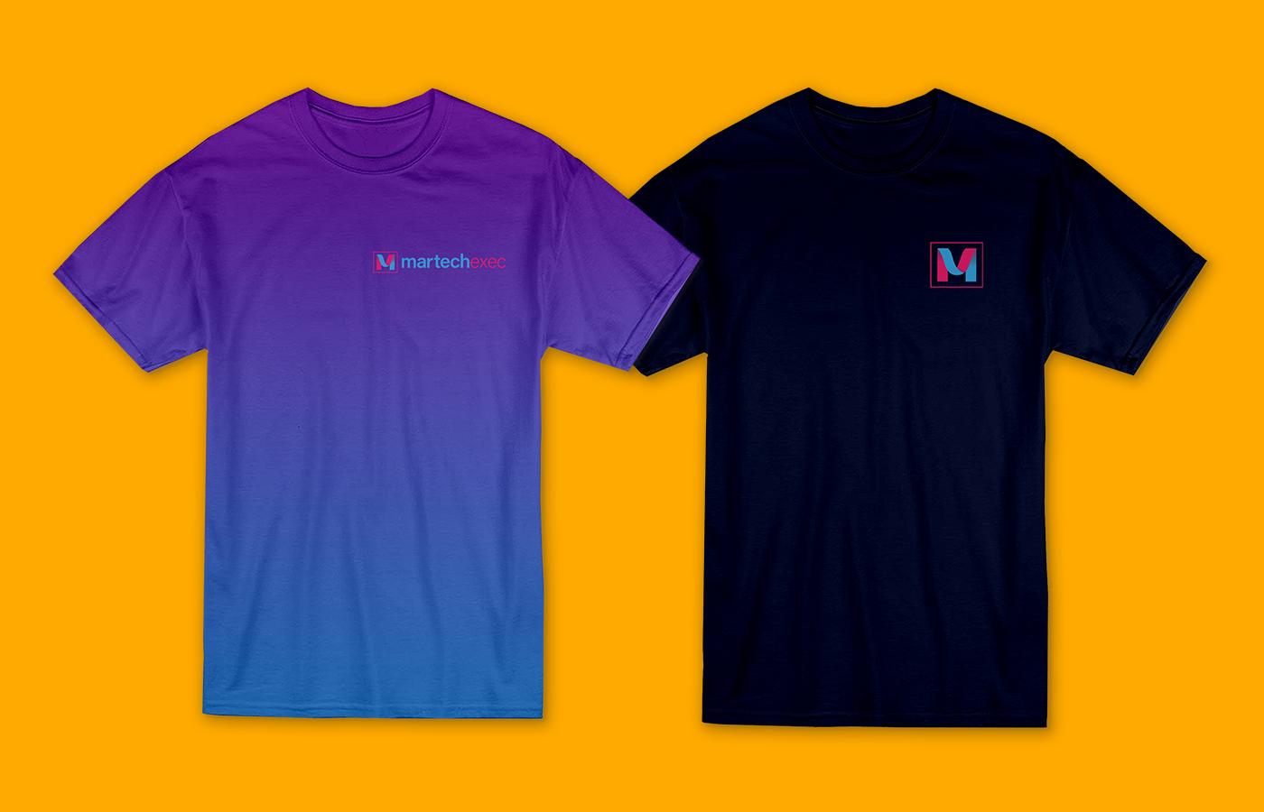 T-Shirt concepts for MarTechExec